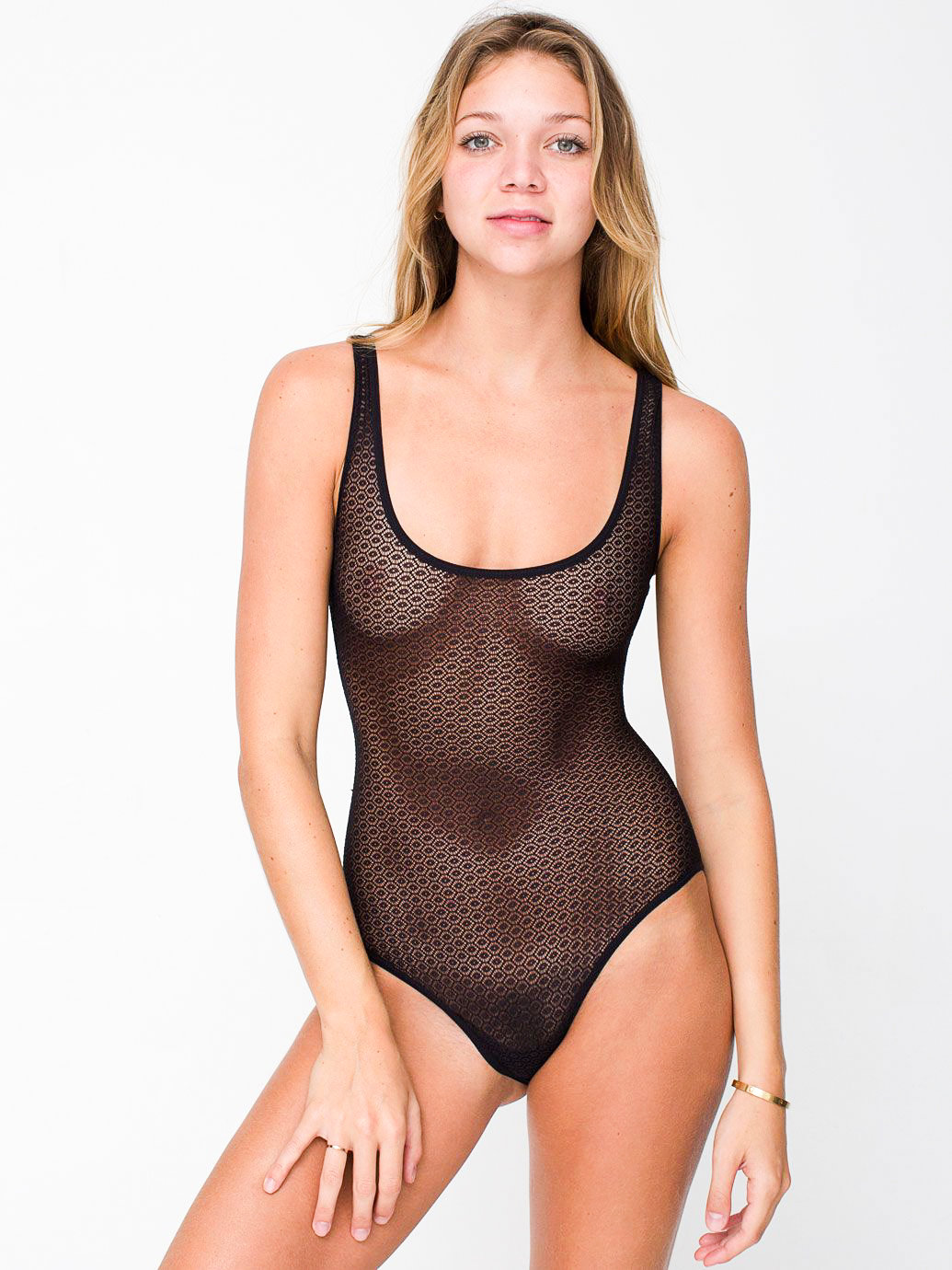Geo lace bodysuit