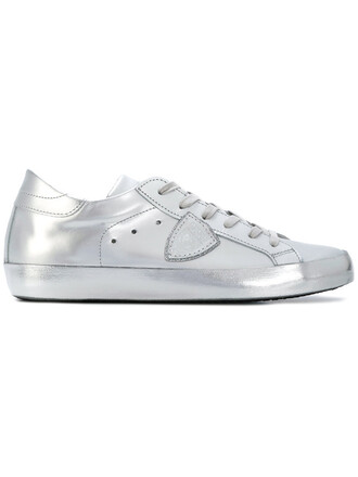 metallic sneakers metallic women sneakers leather grey shoes