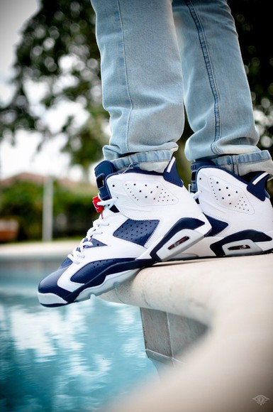 shoes sneakers mens shoes blue jordans