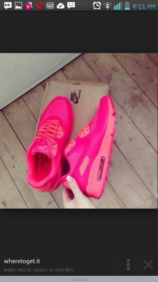 shoes pink shoes nike air max 90