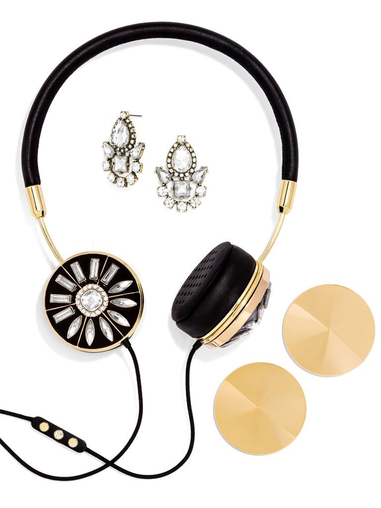 Gold frends x baublebar layla headphones