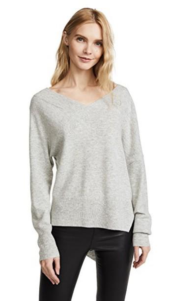Brochu Walker pullover asymmetrical sweater