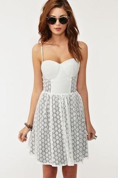 dress summer dress white dress white summer outfits floral dress cream dress