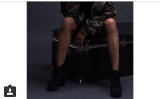 shoes black laces platform black platform