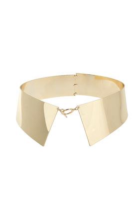 Shirt collar necklace