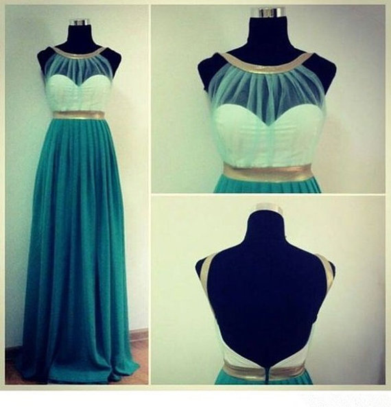 Surprising green sweetheart simple prom by lovepromdress on etsy