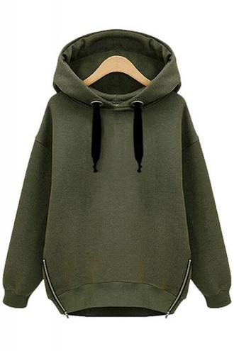 jacket green hoodie