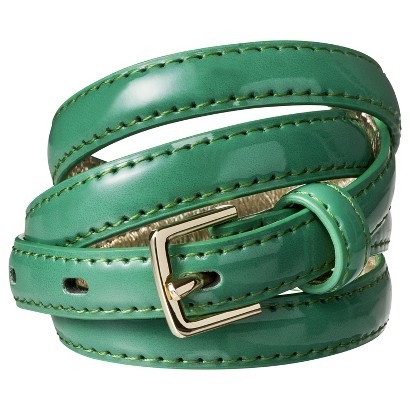 Merona® Color Skinny Belt - Green