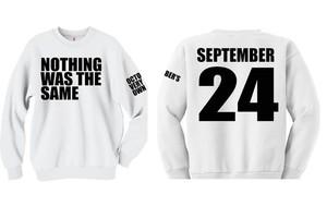 Nothing Was The Same Exlusive Sweatshirt   eBay