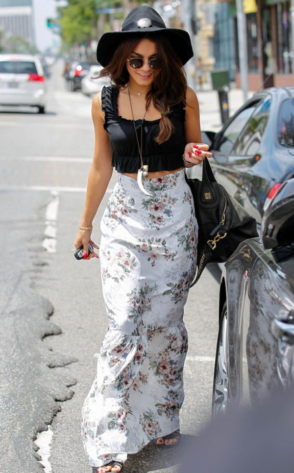 skirt vanessa hudgens ootd style skirts and tops hipster jewelry lovely fashion indie