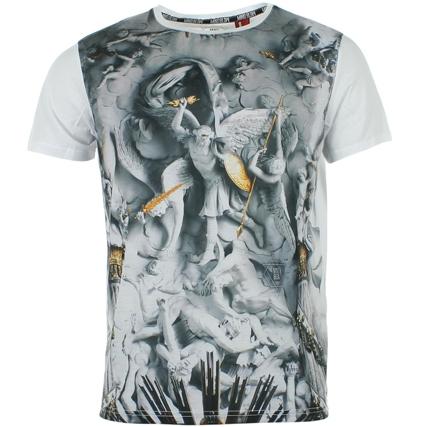Tee Shirt Mind Blow Heaven Blanc - LaBoutiqueOfficielle.com