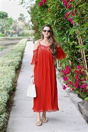 lamariposa,blogger,dress,shoes,sunglasses,bag,jewels