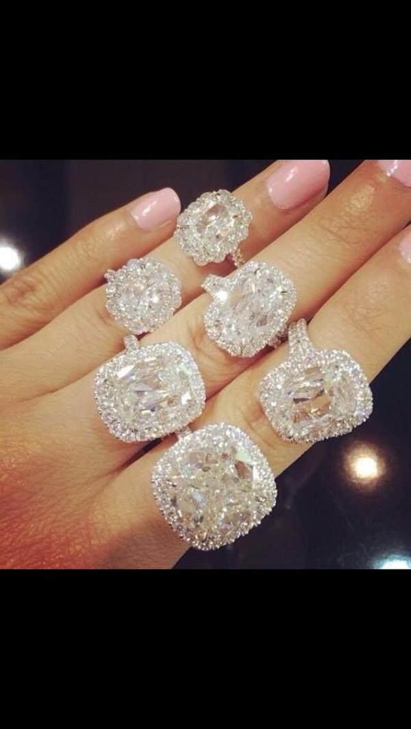 huge diamond ring rose gold big oval egg shaped diamond