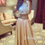 Custom Made Champagne A-line 2 Pieces Long Prom Dress, Evening Dress - 24prom