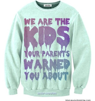 sweater pastel goth pastel cute tumblr funny sweater