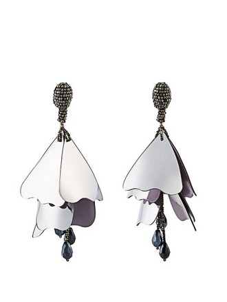earrings metallic jewels