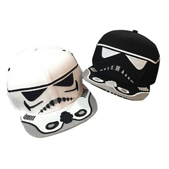 hat cool style cap star wars fashion teenagers funny black and white boogzel