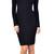 Emprada - Gianna Mock Neck Midi Dress | Emprada
