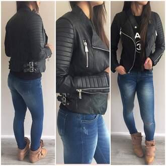coat black jacket