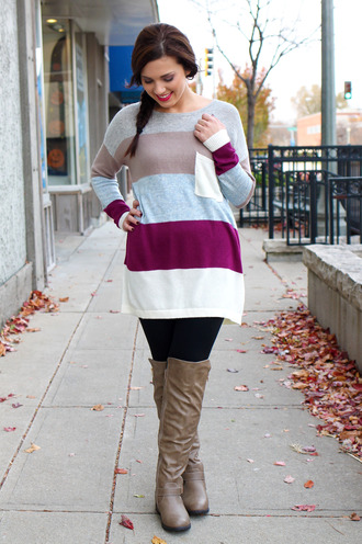 pocket gray oversized knitwear cream plum charcoal ivory knitted sweater soft