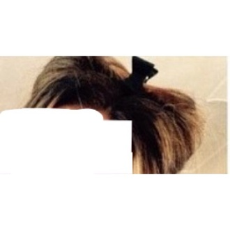 hair accessory hairstyles how to blonde hair brown clip claw hair up half up how