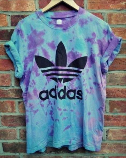shirt tie dye adidas shirt