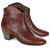 Cognac Leather Dicker Ankle Boots