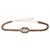 Bgo & me: Cinturón cordón trenzado topo con cristales Swarovski