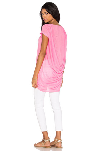 top back short pink