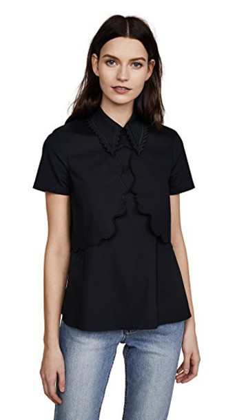 VIVETTA shirt black top
