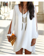 Elle store: v neck casual dress