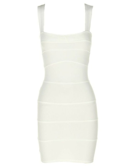 cream bodycon dress