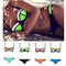 2015 bikini color contrast swimwear new style bathing suit push up women neoprene bikini set-in bikinis set from apparel & accessories on aliexpress.com | alibaba group