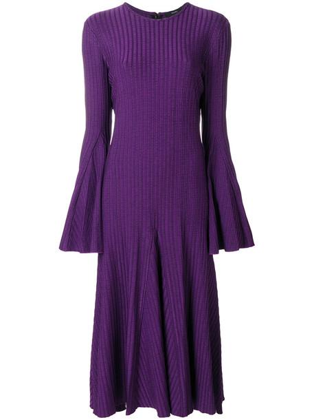ellery dress women spandex purple pink