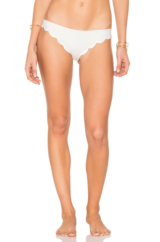Marysia Swim Broadway Bikini Bottom in white