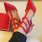 Inspired celebrity heels shoes celeb rivets rockstuds rockstud gift | awesome world - online store