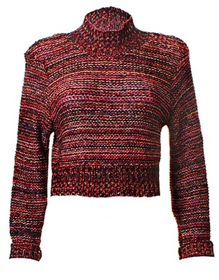 ASOS Fashion Finder | LOVE High Neck Multi Knit