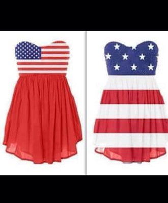 dress american flag