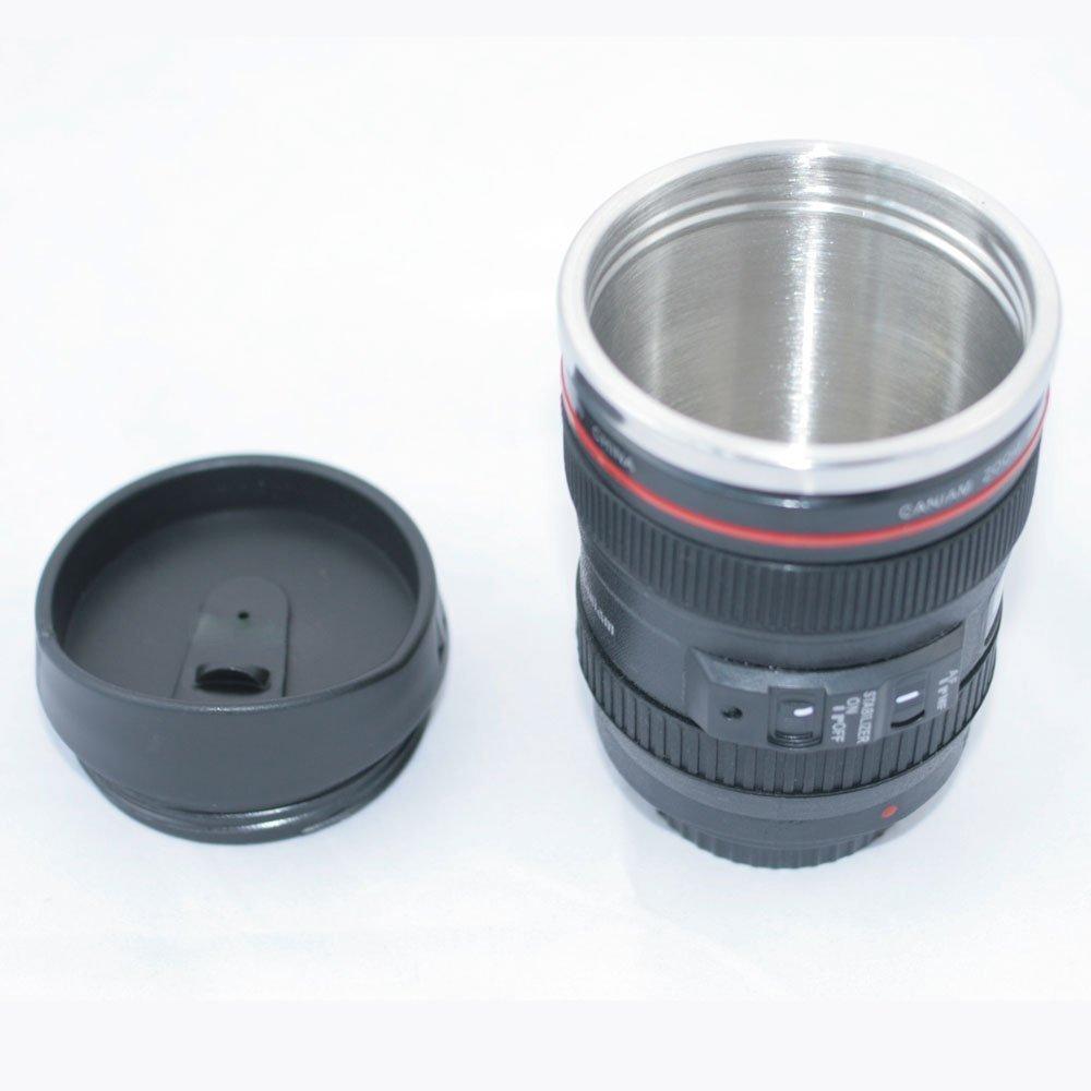 105mm: camera lens coffee mug: kitchen & dining