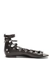 shoes,star print,studded,lace up sandals