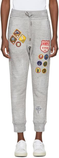 Dsquared2 pants grey