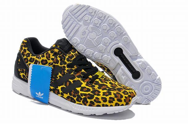 Adidas originals zx flux leopard trainers [zxfluxtrainers313]