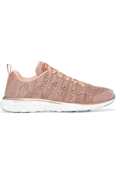 APL Athletic Propulsion Labs mesh sneakers pink shoes