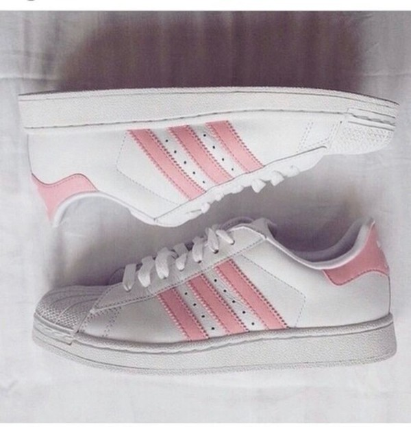 adidas originals star Pink