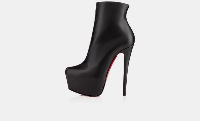 christian louboutin ankle boots ebay