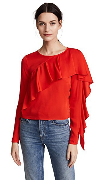 MILLY top silk