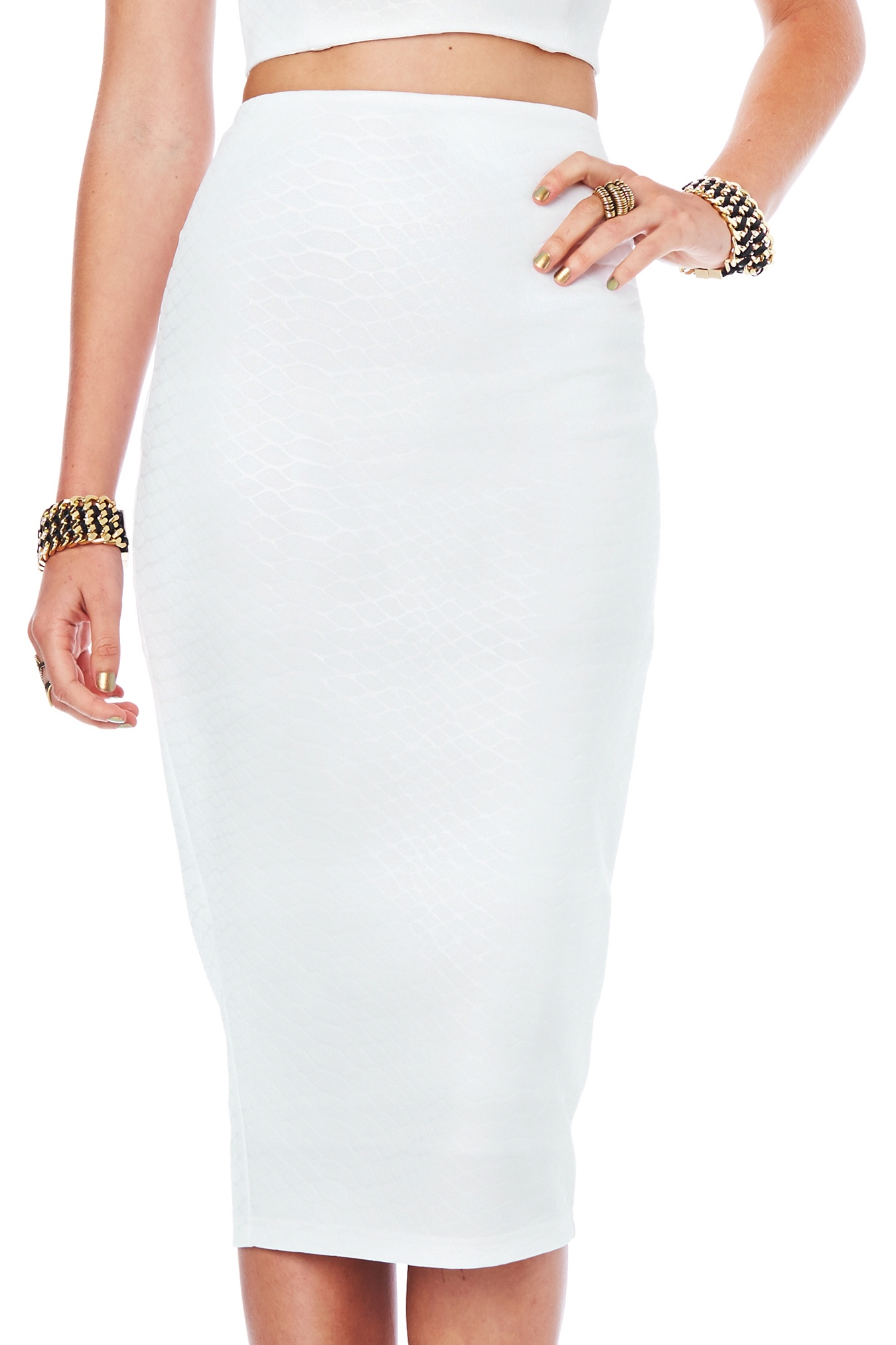 Snake Eyes Pencil Skirt : Buy Designer Dresses Online at Nookie