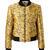 Blouson-Jacke im Python-Look Multi von Stella McCartney bei UNGER