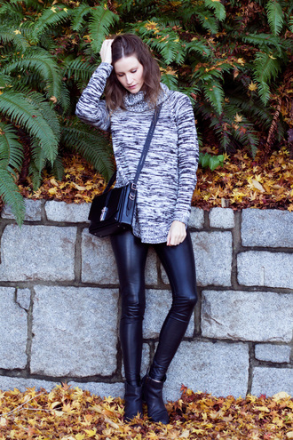 styling my life blogger sweater leggings shoes bag