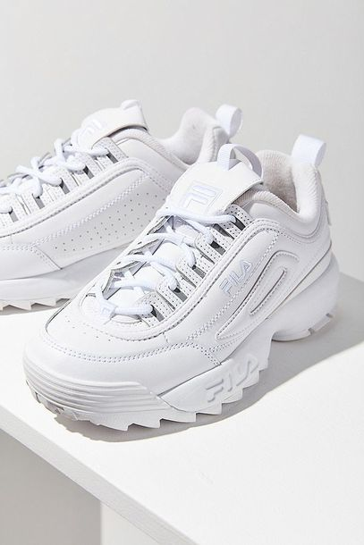 shoes, fila sneakers, fila disruptor
